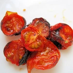 オーブンで焼きトマト