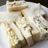 英国風きゅうりのサンドイッチ