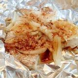 真鯛と玉ねぎのホイル焼き