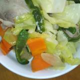 豚野菜炒め