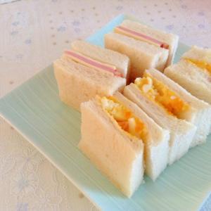 ハムチーズ&たまごサンド