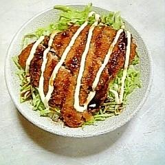 サクッと☆鯵フライ丼☆