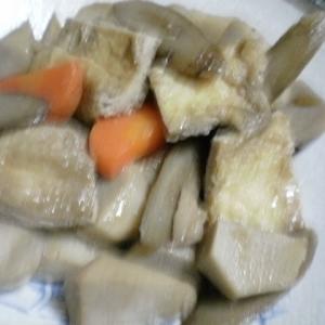 たらの煮汁で里芋煮