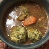鉄分・栄養たっぷり ビーツと肉団子のスープ