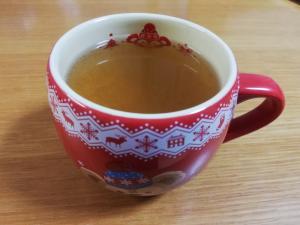 ホット梅しょうが紅茶