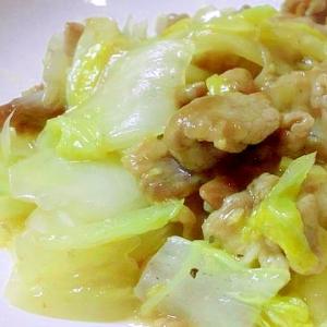 白菜と豚肉の塩炒め