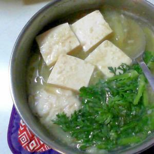 1人塩麹鍋