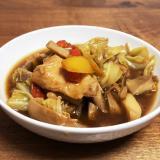 ホットクック☆たっぷり野菜と鶏肉のオイスター煮