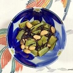 大豆、いんげんの煮物