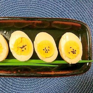 味噌粕に漬けるだけ~おつまみ卵