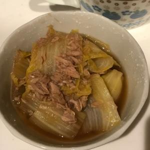 あと一品!白菜とツナの簡単煮