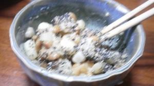 らっきょうポテト納豆