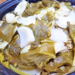 小松菜かぶキャベツdeホットサラダ