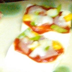 おいし~い☆ヘルシ~☆お豆腐ピザ