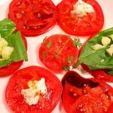 【簡単】ワンプレートで色々イタリアントマトサラダ