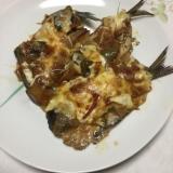 イワシのラタトゥイユチーズ焼き