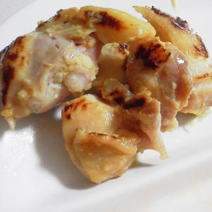簡単!包丁いらずの鶏もも肉の塩麹焼き