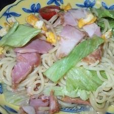 夏にさっぱり!サラダ麺