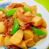 大根と里芋豚肉の煮物