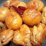 フライパンひとつで新じゃがと鶏肉のピリ辛炒め煮