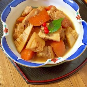 無水鍋で味が染み込む♪鶏肉と厚揚げの煮物