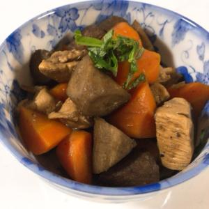 フライパンで簡単!鶏肉と根菜のめんつゆ煮