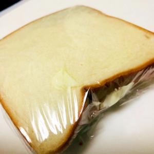 ハムとキャベツのサンドイッチ