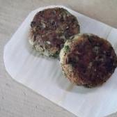 菊芋と豆腐のミニバーグ(青菜、牛蒡入り)