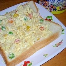 ポテトサラダトースト