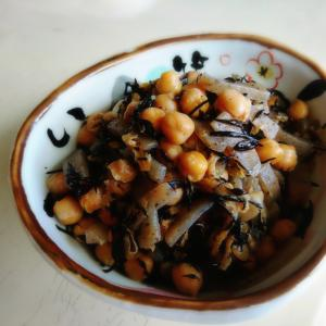 ひよこ豆&ひじき煮