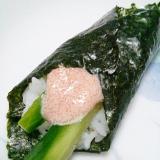マヨめんたい手巻き寿司