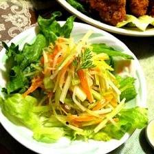 春野菜の三色マリネ
