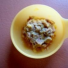 離乳食☆ポテト納豆