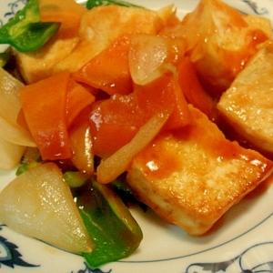 豆腐の酢豚風