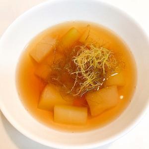 冬瓜とイギスの☆簡単和風スープ