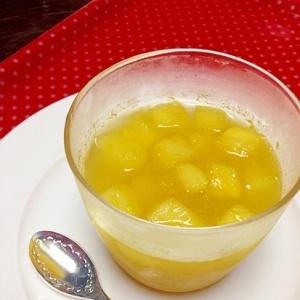 果汁たっぷり♡2つの食感☆すいかゼリー