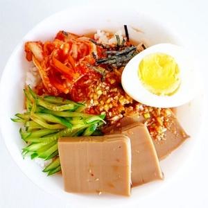 トトリムクパプ どんぐり豆腐の冷や汁