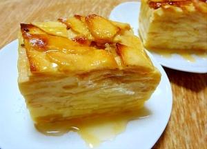 フランスのお菓子☆リンゴのガトー・インビジブル