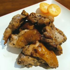 鶏肉の醤油スパイス焼き!