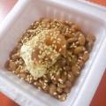 梅干しとマヨネーズとごまの納豆