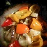 ※※椎茸とカラーピーマンのオリーブオイル漬※※