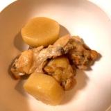 べんりで酢で、簡単!鳥手羽元と大根の煮物♪