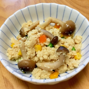 簡単!ふわふわ☆粉豆腐の炒り煮