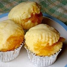ヨーグルトでしっとりふわふわ マーマレード蒸しパン