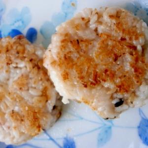 雑穀米で☆焼きおにぎり