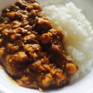 ひよこ豆のココナッツミルクカレー