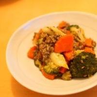 野菜たっぷり!ひき肉煮込み