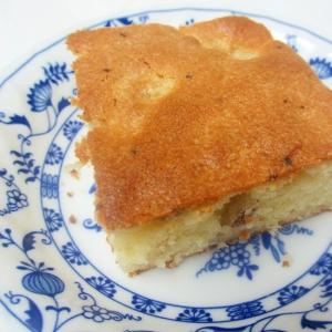 バナナとくるみのオレンジヨーグルトケーキ