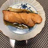 鮭の時短照り焼き