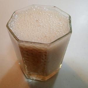 バナナ・金時豆・甘夏ジャムの美的YGミルクジュース